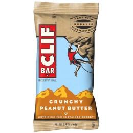 Clif Peanut Butter Crunch Bar 1.5 oz Each Bar, 60 Bars Total