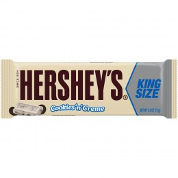 Cookies N Creme King Size, 2.6 oz Each, 12 Boxes of 18 Bars, 216 Total