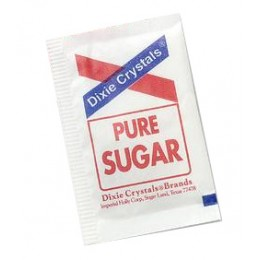 Dixie Crystal Sugar Packets, .125 oz Each, 1000 Packets Total