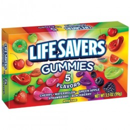 Lifesaver Gummies Five Flavor 3.5 oz Per Bag, 12 Bags Total