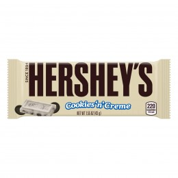 Cookies n Creme Bar, 1.54 oz Each, 12 Boxes of 36 Bars, 432 Total