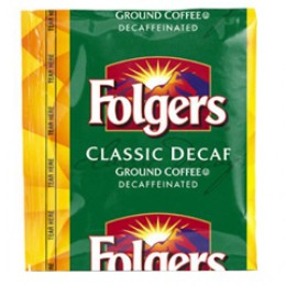 Folgers Classic Roast Decaf Vacket .9oz ea 4 Boxes of 42 Vackets