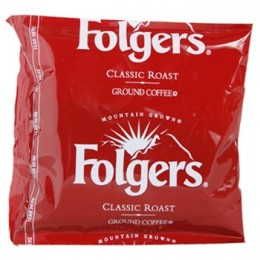 Folgers Classic Roast Regular Singles, 1.5 oz Each, 42 Units Total