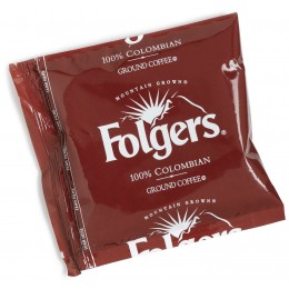 Folgers Colombian Regular Singles, 1.75 oz Each, 42 Units Total