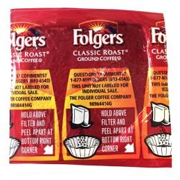 Folgers Classic Roast Vacket, .9 oz Each, 42 Vackets Total