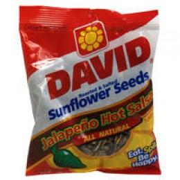 David Sunflower Seeds Shell Salsa 5.75 oz Each Bag 12/CS