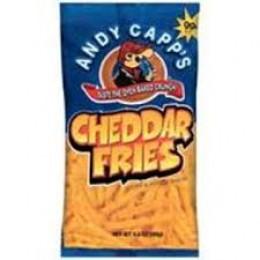Andy Capp Cheddar Fries, 3 oz Each, 12 Bags Total