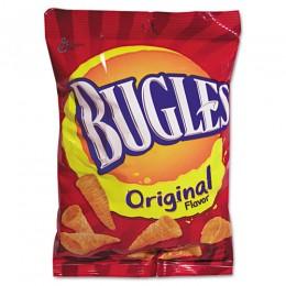 Bugles Original, 3 oz Each, 6 Boxes of 6 Bags, 36 Total