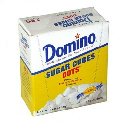 Domino Crystal Sugar Cube Box, 1 lb Each, 12 Boxes Total