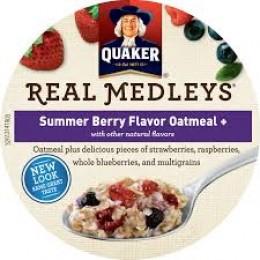 Quaker Oats 31552 Summer Berry Real Medley 2.46oz/12 Total