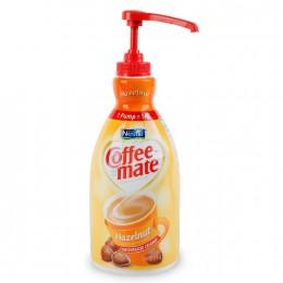 Coffee Mate Hazelnut Liquid Creamer Pump Bottle, 2 Bottles, 1.5L Each