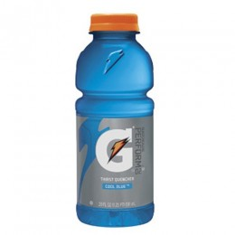 Gatorade Cool Blue, 20 oz Each, 24 Bottles Total