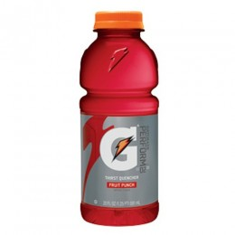 Gatorade Fruit Punch, 20 oz Each, 24 Bottles Total