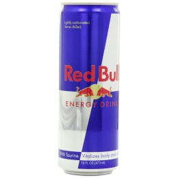 Red Bull Energy Drink, 16 oz Each, 12 Cans Total