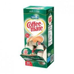 Coffee Mate Irish Cream Trans Fat Free Liquid Creamer, .38 oz Each, 180 Total