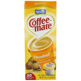 Coffee Mate Liquid Single Creamer Hazelnut .38oz ea 180 Creamers Total
