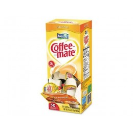 Coffee Mate Hazelnut Liquid Creamer .38oz ea 4 boxes 50 Creamers 200