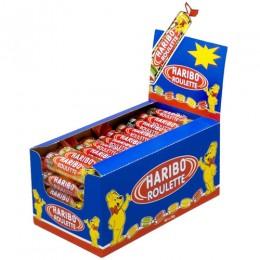 Haribo Gummies Roulette Box, .875 oz Each, 12 Boxes Total