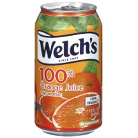 Welch's 100% Orange Juice, 11.5 oz Each, 24 Total
