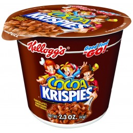 Cocoa Krispies Cereal Cup, 10 Boxes of 6 Cups, 60 Total