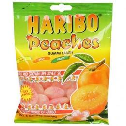 Haribo Gummies Peaches, 5 oz Each, 12 Boxes Total