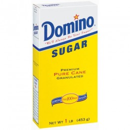 Domino Sugar Carton 1lb 24/CS