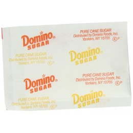 Domino Granulated Sugar Packets, .1 oz Each, 2000 Packets Total