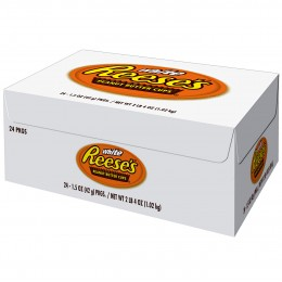 Reeses Peanut Butter Cups White Box, 1.5 oz Each, 324 Total