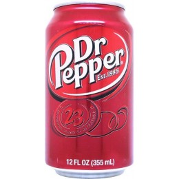 Dr Pepper, 12 oz Each, 24 Total