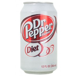 Dr Pepper Diet, 12 oz Each, 24 Total