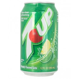 7-Up, 12 oz Each, 24 Total