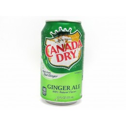Canada Dry Ginger Ale, 12 oz Each, 24 Total