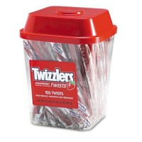 Twizzlers Canisters 105 Count, 6 Bags