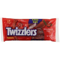 Twizzler Strawberry King Size 5 oz Each Bag, 120 Bags Total
