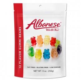 Albanese World's Best Gummi Bears, 7.5 oz Each, 12 Total