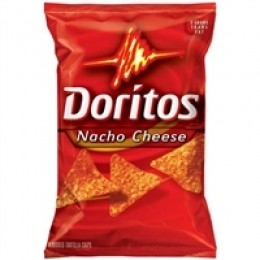 Doritos Chips Spicy Nacho Cheese 1.75 oz Each Bag, 64 Bags Total
