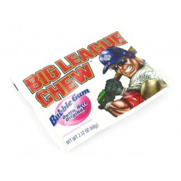 Big League Chew Original Bubble Gum, 2.12 oz Each, 108 Total