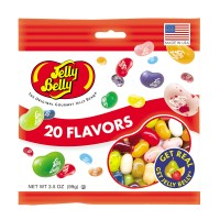 Jelly Belly Jelly Bean Assortment Bag 3.5 oz Each Bag, 12 Bags Total