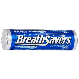 Breath Savers Peppermint Rolls .75oz ea. 360 Total