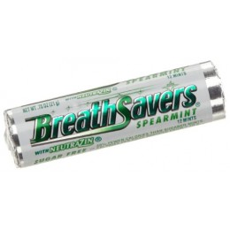 Breath Savers Spearmint Rolls .75oz ea. 360 Total