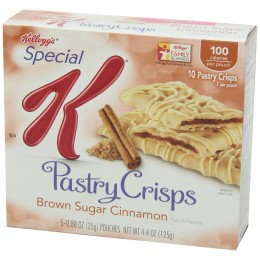 Kellogg's Special K Brown Sugar Cinnamon Pastry Crisps 81 Total
