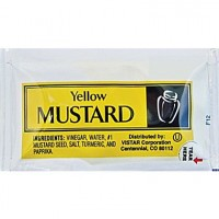 Vistar Mustard Packet, 4.5 gm Each, 200 Packets Total