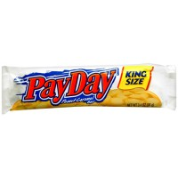 Payday King Size 3.4 oz. Each Bar, 144 Total Bars