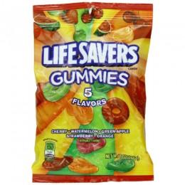 Lifesavers Gummies 5 Flavor Peg Bag, 7 oz Each, 12 Bags Total