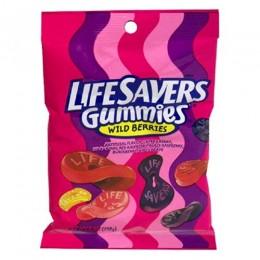 Lifesaver Gummies Wildberry Peg Bag 7 oz Each Bag, 12 Bags Total