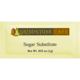 Grindstone Yellow Packet Sweetener 0.035 oz Each Packet, 2000 Packets Total
