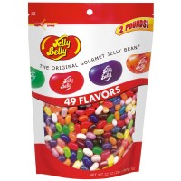 Jelly Belly Bonanza Assortment 2 lbs Bag, 12 Bags Total
