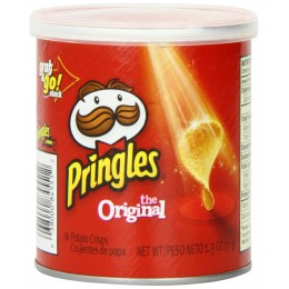 Pringles Original Can, 1.3 oz Each, 3 Boxes of 12 Cans, 36 Total