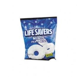 Lifesavers Mints PepOmint Peg Bag 6.25 oz Each Bag, 12 Bags Total