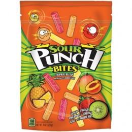 Sour Punch Bites Tropical Flavors 9 oz. 12 Bags Total